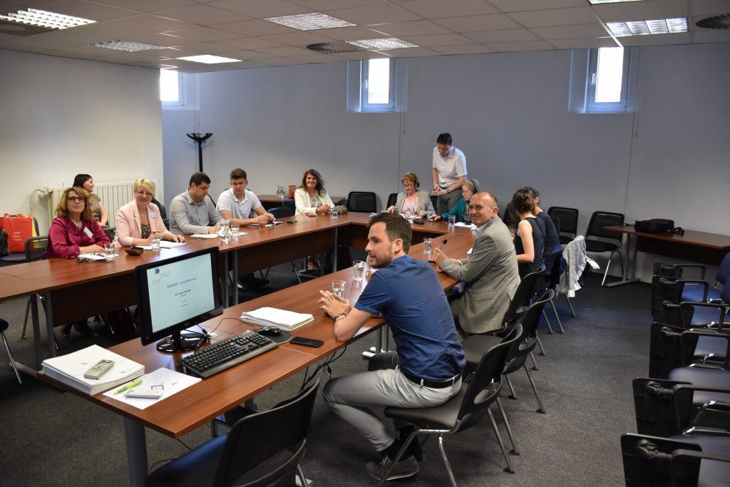 Obisk moldavske delegacije